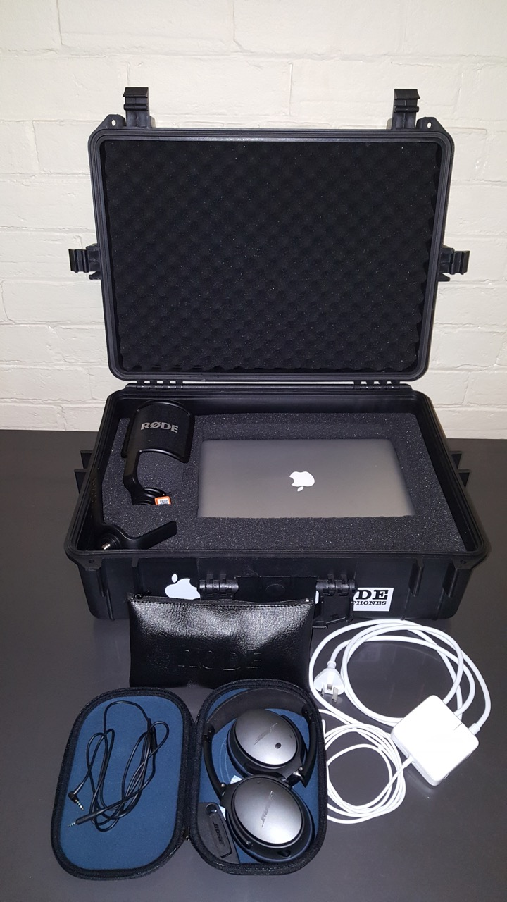 language recording pack
