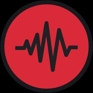 audio recording wave